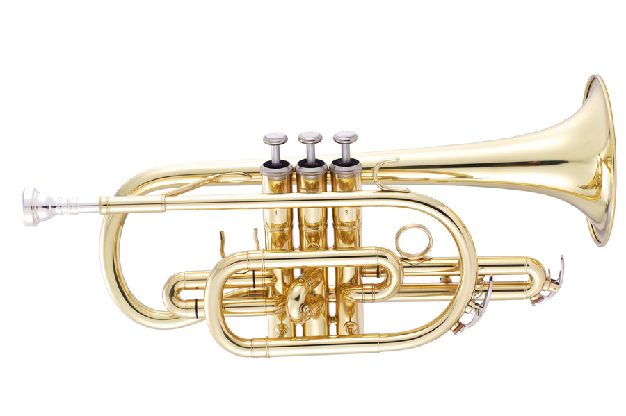 Photo of a John Packer cornet from the supplier's site