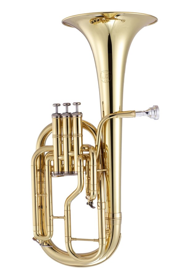 Photo of a John Packer tenor horn from the supplier's site