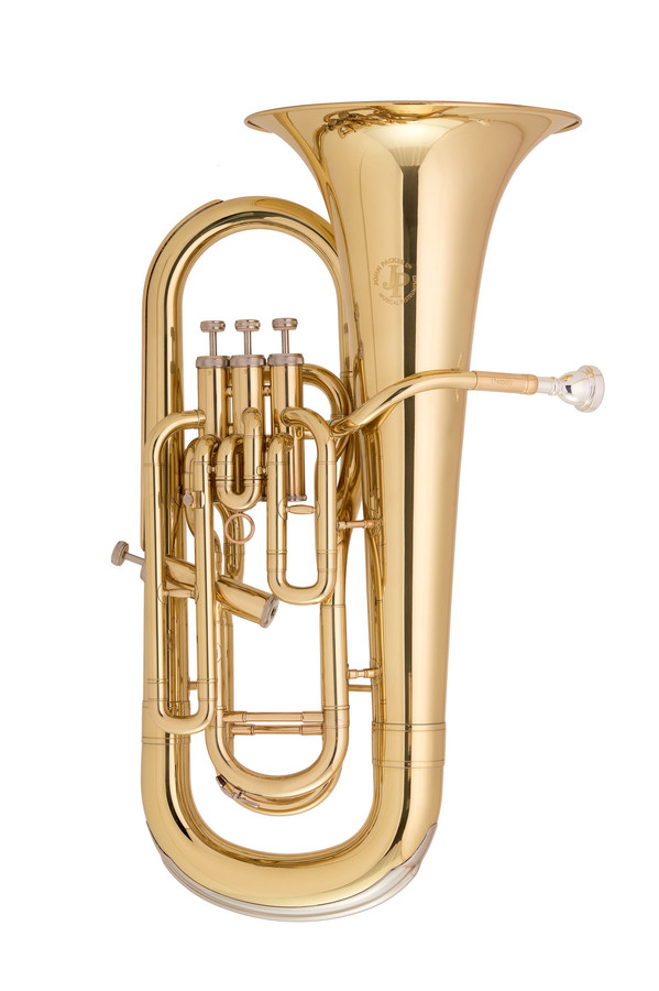 Photo of a John Packer euphonium from the supplier's site
